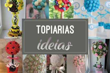 Topiarias: lindos modelos para se inspirar