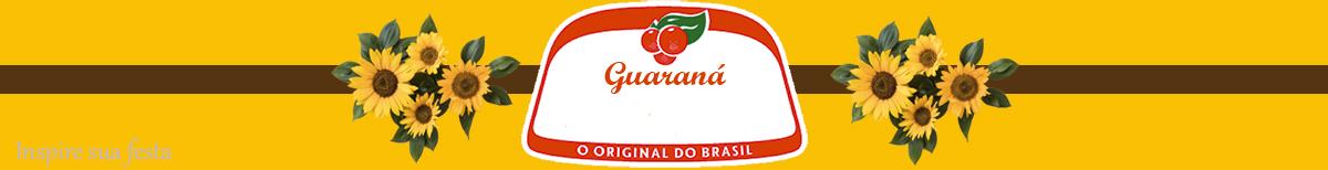 guarana personalizado gratuito girassol inspire sua festa