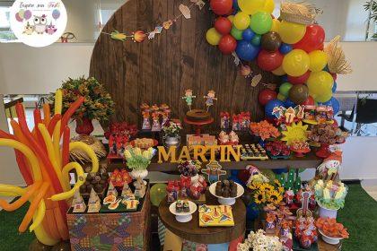 Charraiá de fraldas do Martin – Chá de fraldas Julino