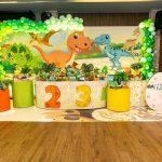 Festa infantil no tema Dinossauros – Alfredinho 4 anos