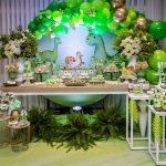 Decoração de festa infantil Dinossauros – 2 anos do meu Davi