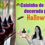 Caixinha de acrílico decorada para o Halloween – Passo a passo
