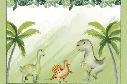 Personalizados gratuitos – Dinossauros