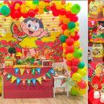 Decoração de festa no tema Magali