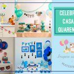 Celebre em casa durante a quarentena – Inspirações para meninos