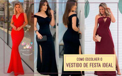 Como escolher o vestido de festa ideal? Veja 4 dicas!