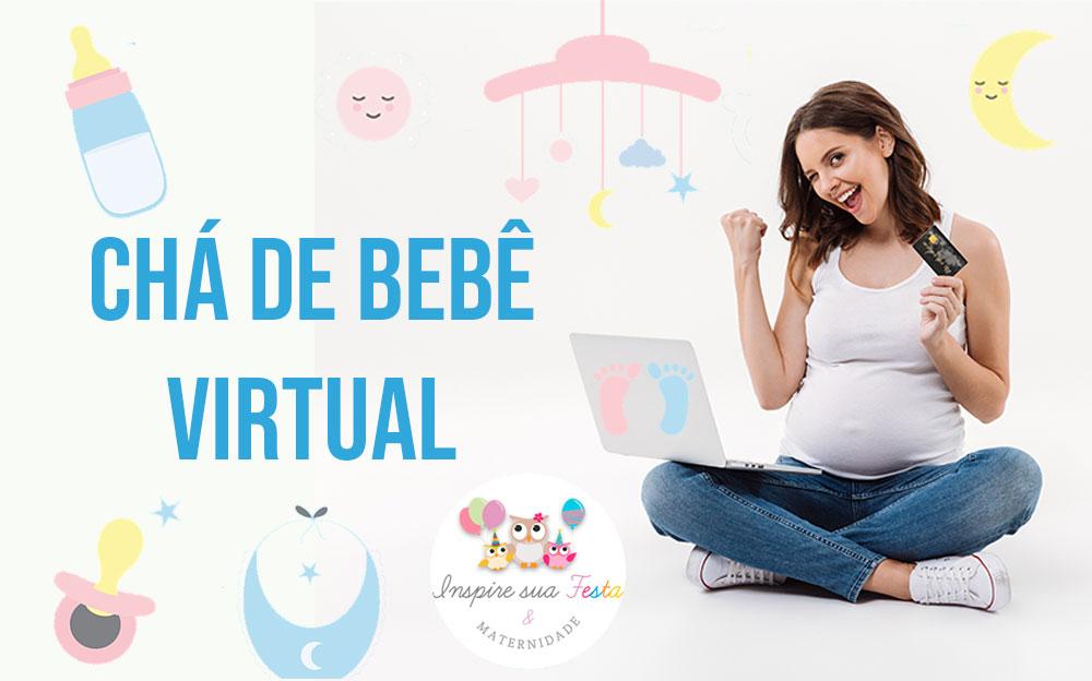 Chá de bebê ou chá de fraldas virtual – Como fazer