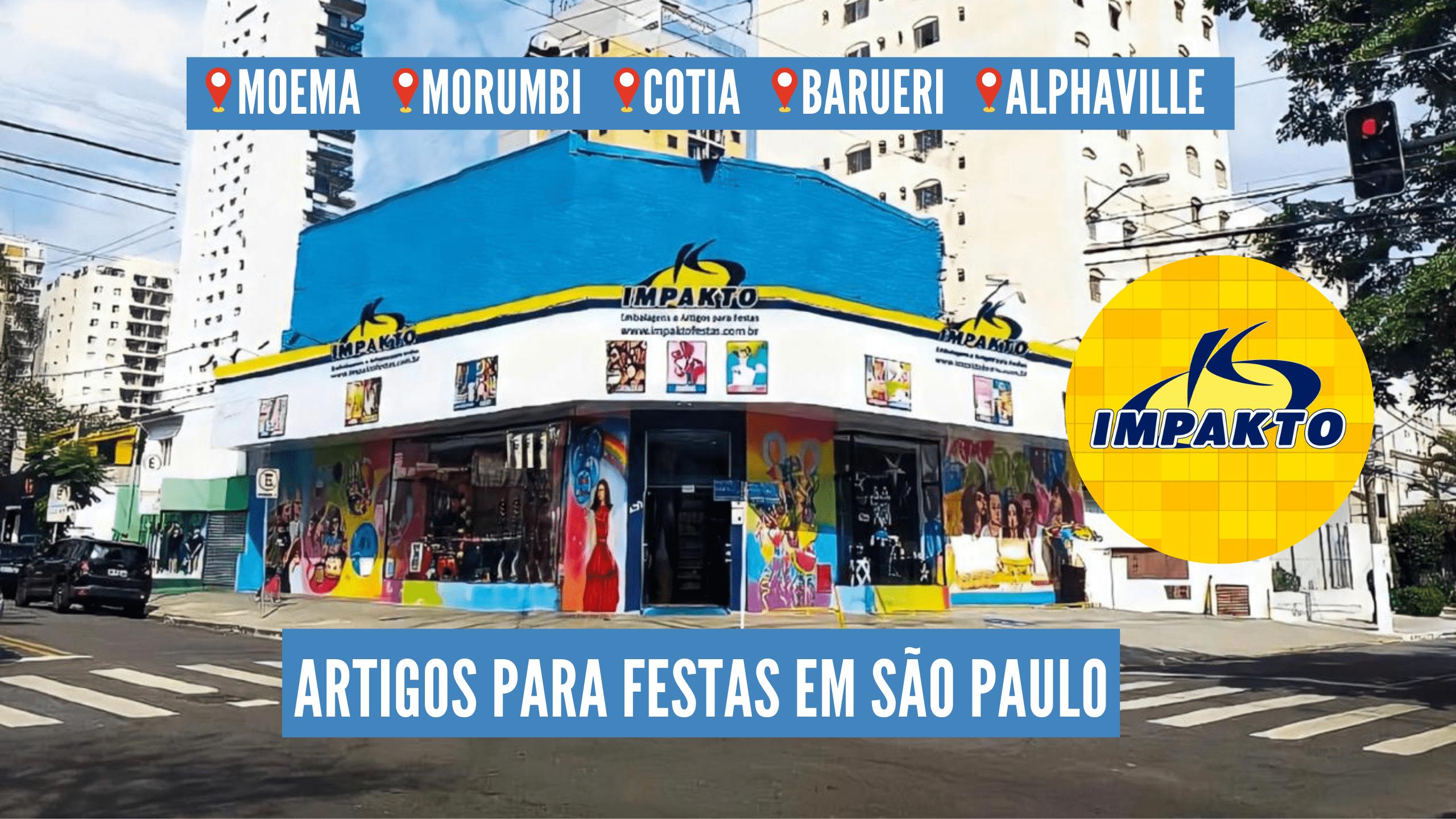 Impakto Festas – Loja de Artigos para Festas em São Paulo