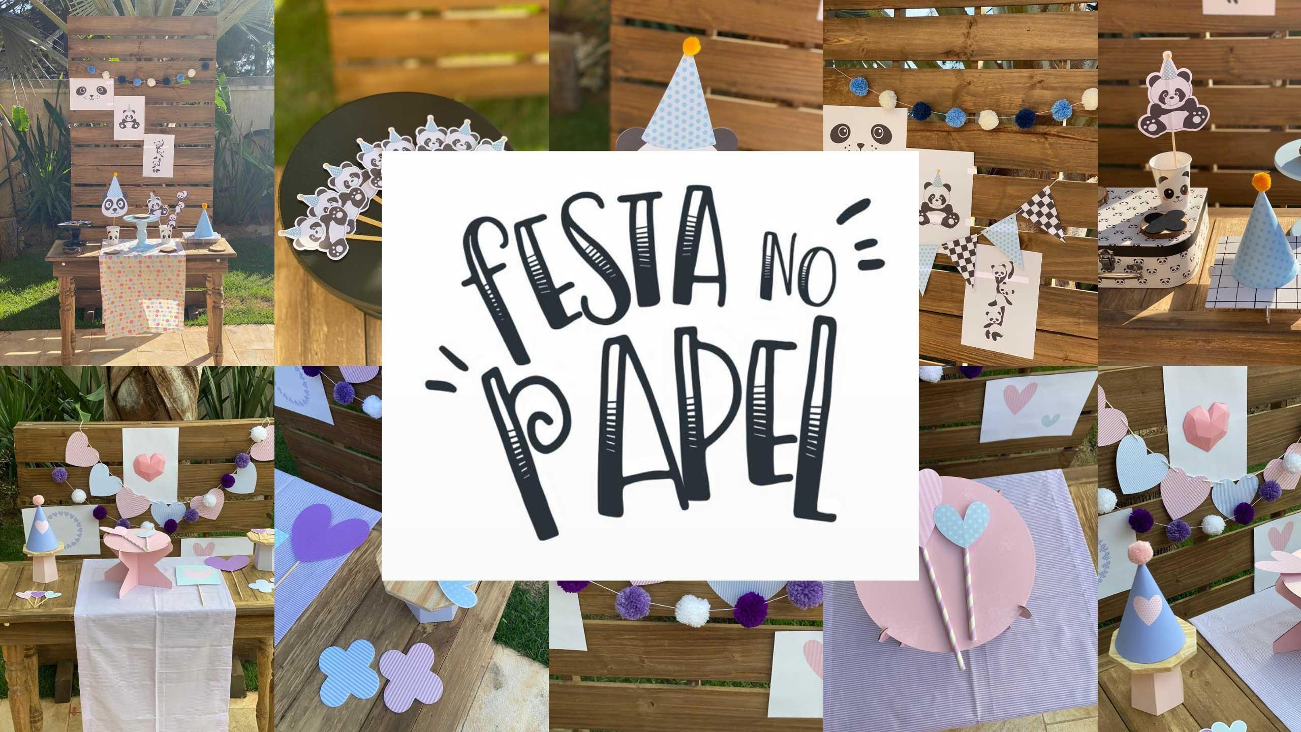 Festa no Papel – Personalizados para festa