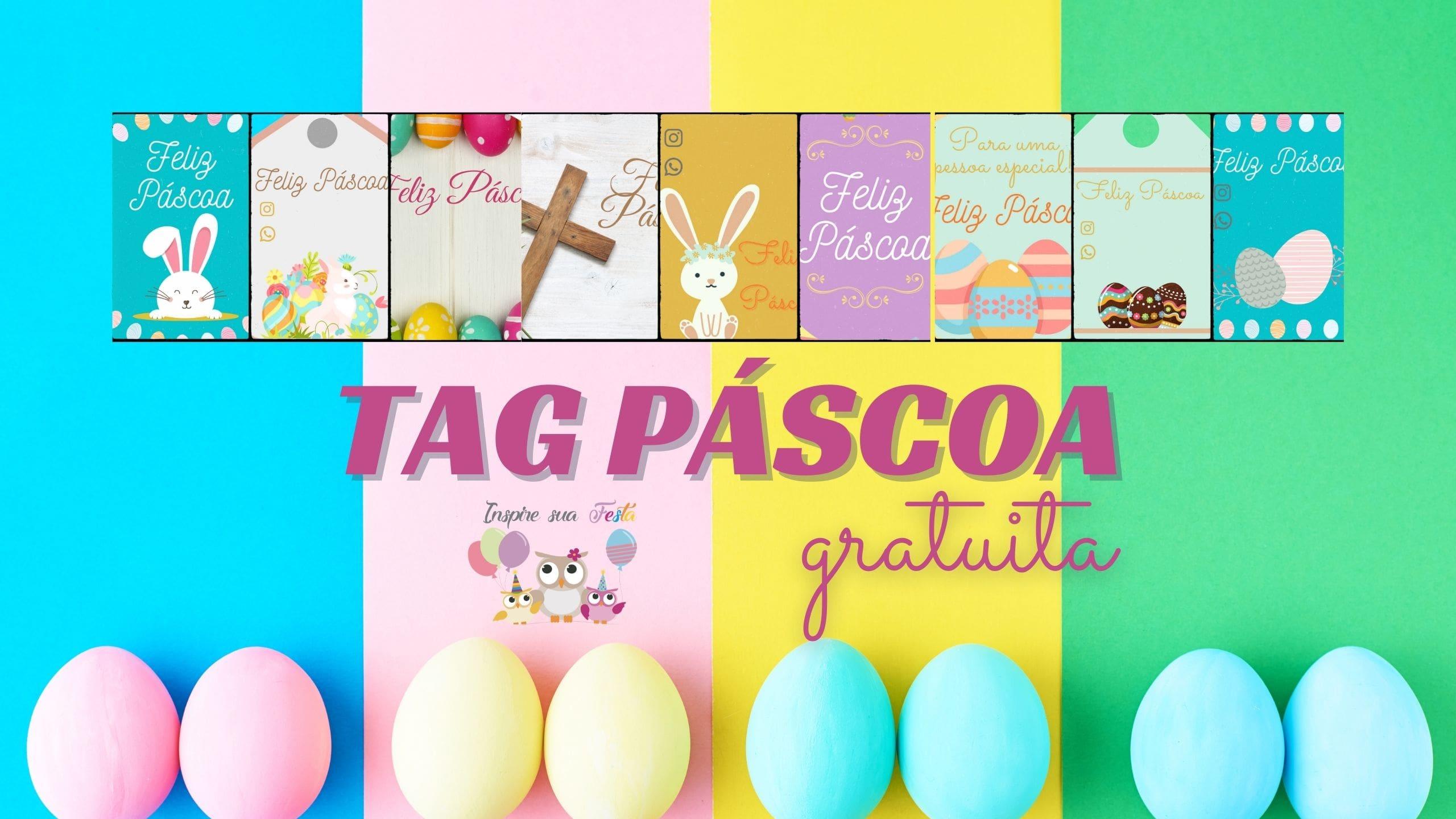 Etiquetas personalizadas para Páscoa – Gratuitas
