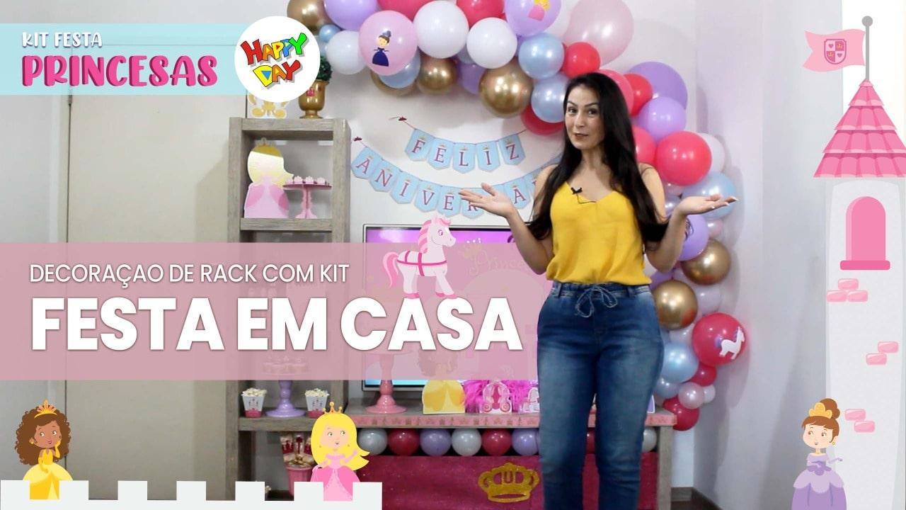 Como fazer uma festa no rack Tema Princesas