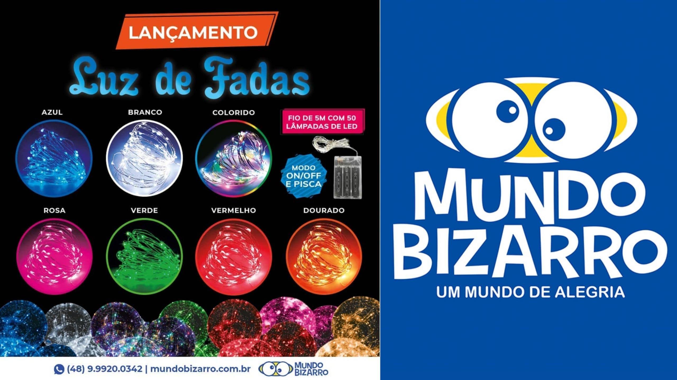 Luz de fadas (luz de LED/ Fio de LED) para usar com Bubble Mundo Bizarro