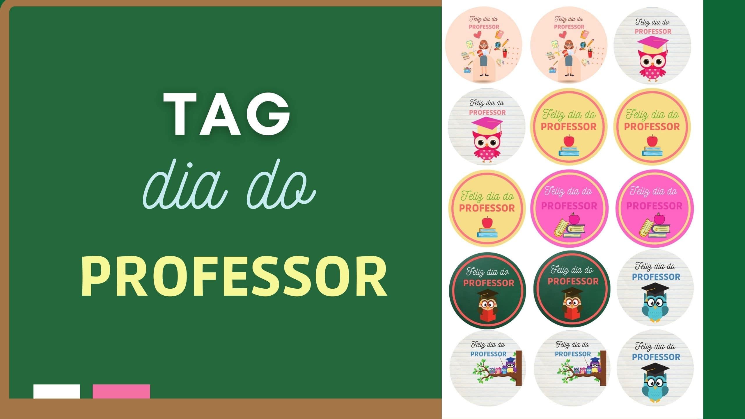 Tags para o Dia do Professor – Download grátis