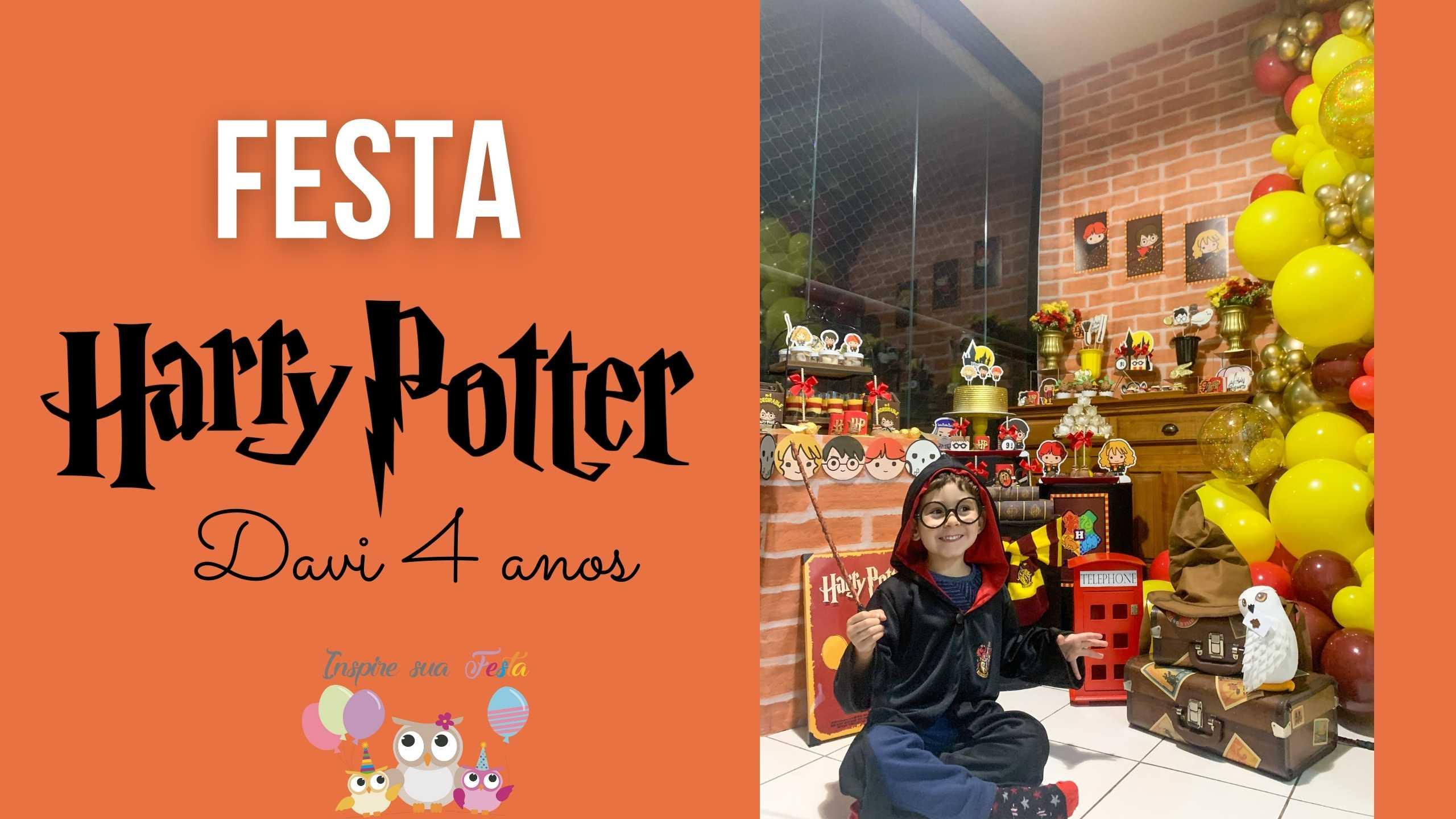 Festa Harry Potter Cute – Davi 4 anos